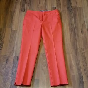 Boden Red Cropped Pants Size 8R
